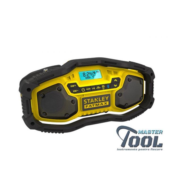 Radio FM/AM cu Bluetooth fara acumulator Stanley Fatmax FMC770B